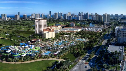 Pool Day Pass Tidal Cove WaterPark at JW Marriott Turnberry Resort & Spa Aventura