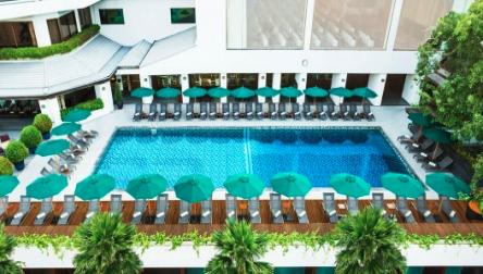 Pool Day Pass Royal Orchid Sheraton Bangkok