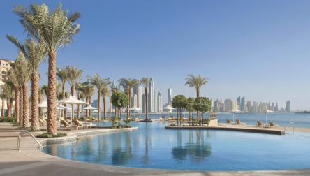 Pool Day Pass Fairmont The Palm Dubai
