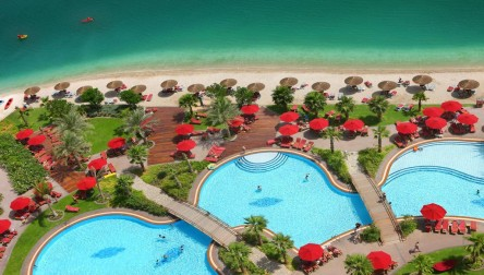 Pool Day Pass Khalidiya Palace Rayhaan by Rotana Abu Dhabi