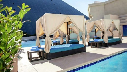 Pool Day Pass Luxor Hotel & Casino Las Vegas