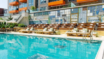 Pool Day Pass McCarren Hotel Brooklyn