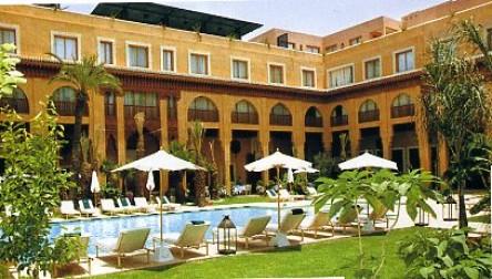 All inclusive day pass hotel les jardins de la koutoubia for Jardin koutoubia