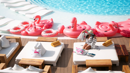 Pool Day Pass Nikki Beach Club Dubai Dubai