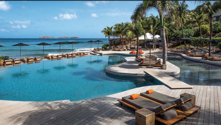 Pool Day Pass Hotel Christopher Saint Barthelemy