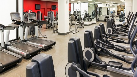 Gym Day Pass Hilton Chicago O'Hare Airport Chicago