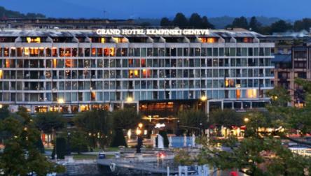 Spa Day Pass Grand Hotel Kempinski Geneva Geneva