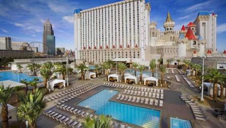 Pool Day Pass Excalibur Hotel Las Vegas