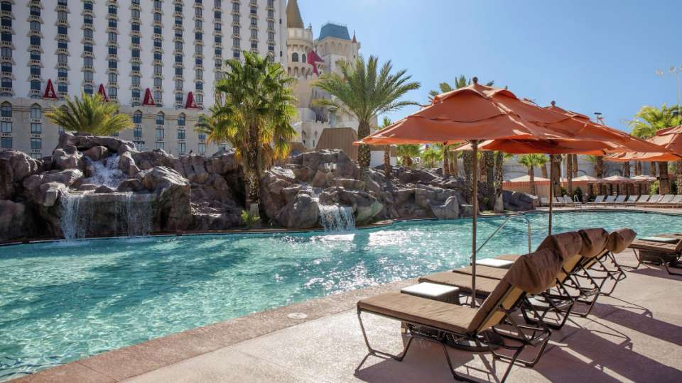 Book Pool Day Pass At Excalibur Hotel Las Vegas United States